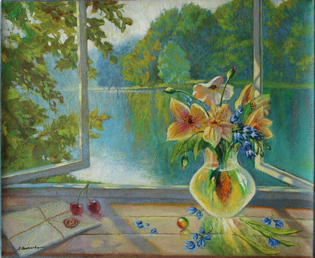 "Alexander Borewko- Original Oil on Canvas ""Open"