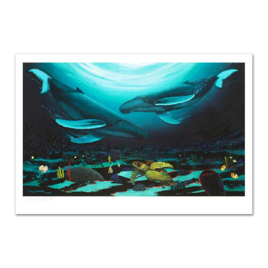 """Wyland -""""Humpback Dance"""" Limited Edition Giclee on"""