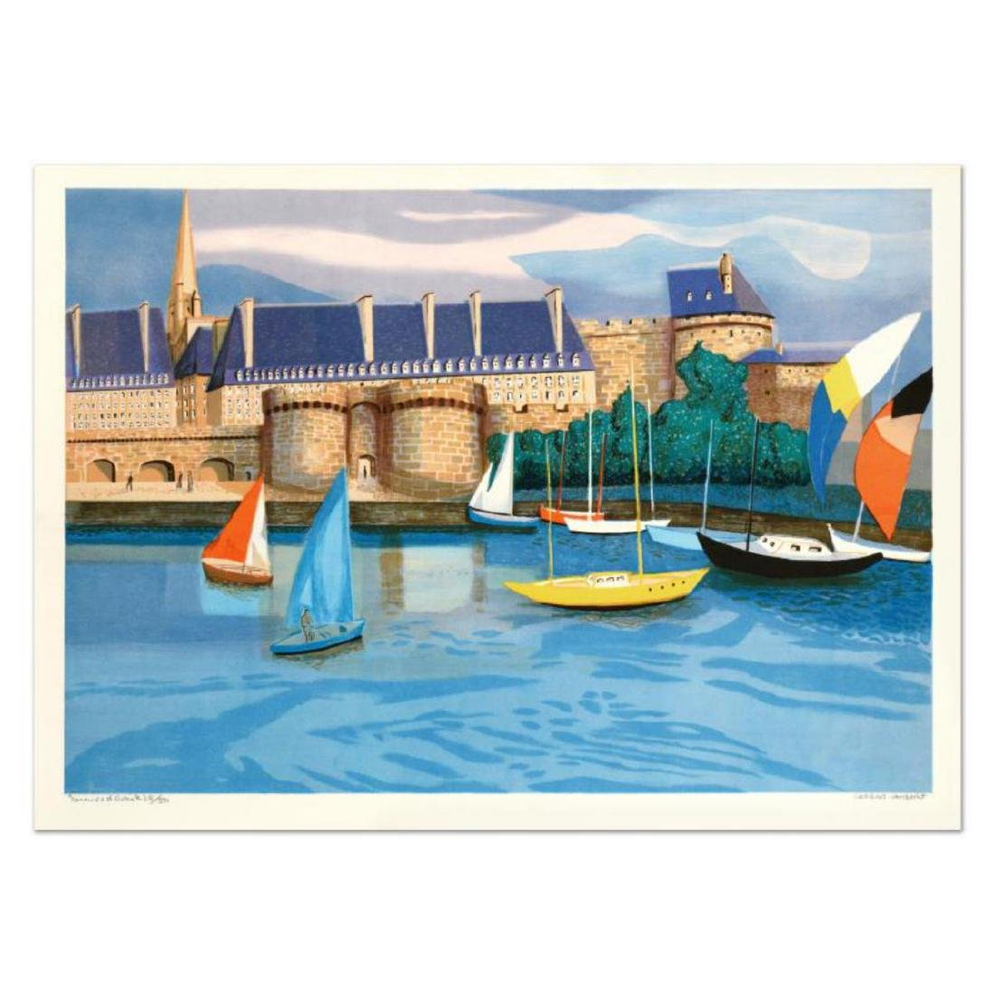 """Georges Lambert (1919-1998), """"St. Malo"""" Limited Edition"""