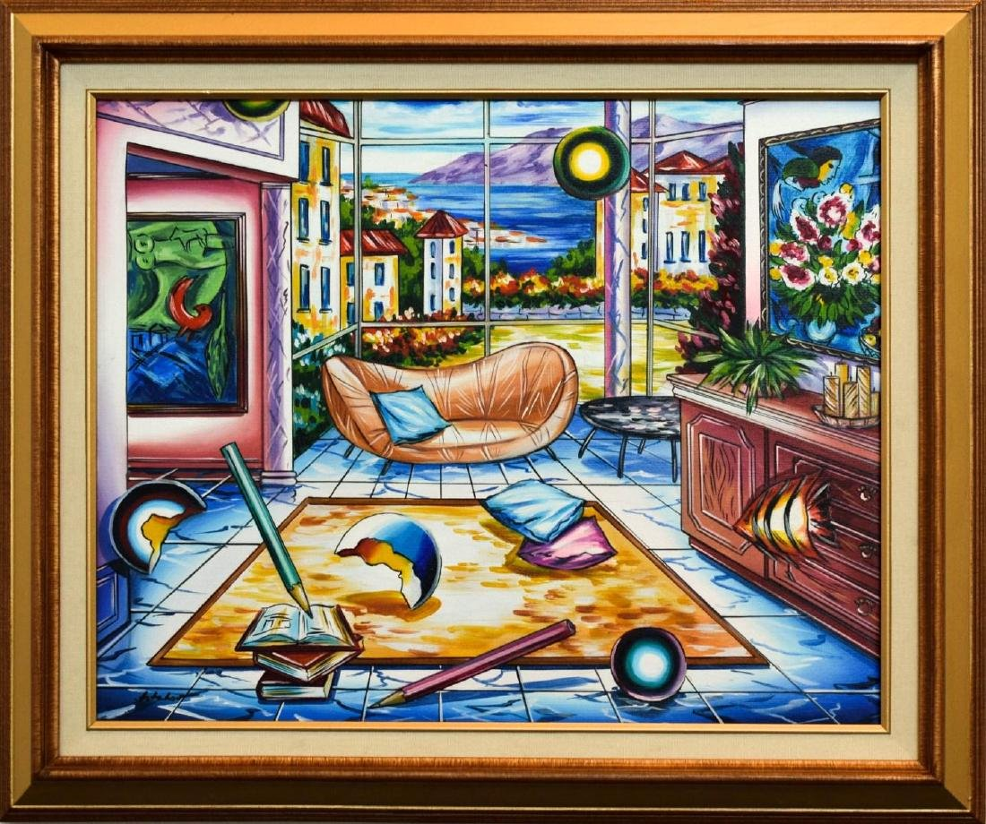 "Alexander Astahov- Original Oil on Canvas ""The Storm"