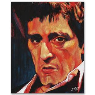 Pacino Limited Edition Giclee on Canvas by Stephen