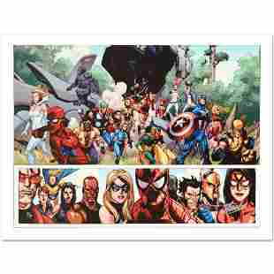 Secret Invasion 1 Limited Edition Giclee on Canvas