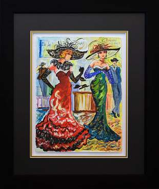 Patricia Govezensky Original Watercolor When the