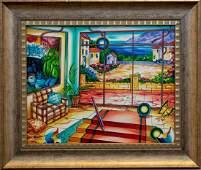 "Alexander Astahov- Original Oil on Canvas ""Touch of"