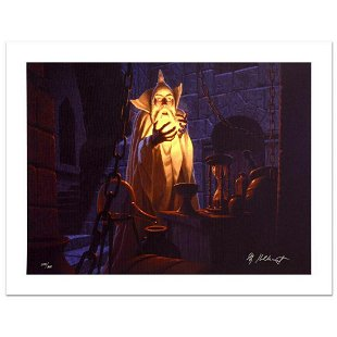 Saruman And The Palantir by The Brothers Hildebrandt - Mar