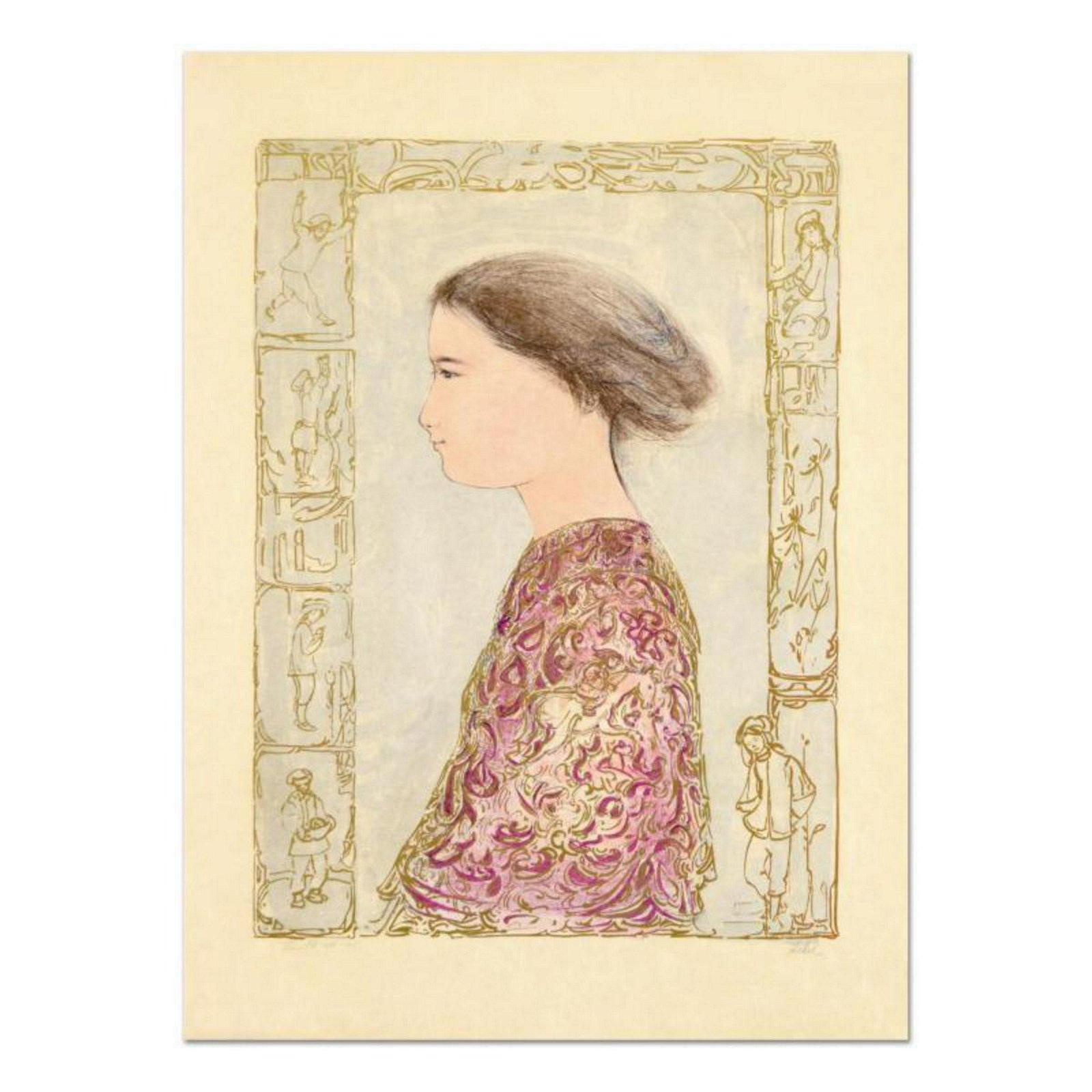 "Edna Hibel (1917-2014), ""China Profile"" Limited Edition"