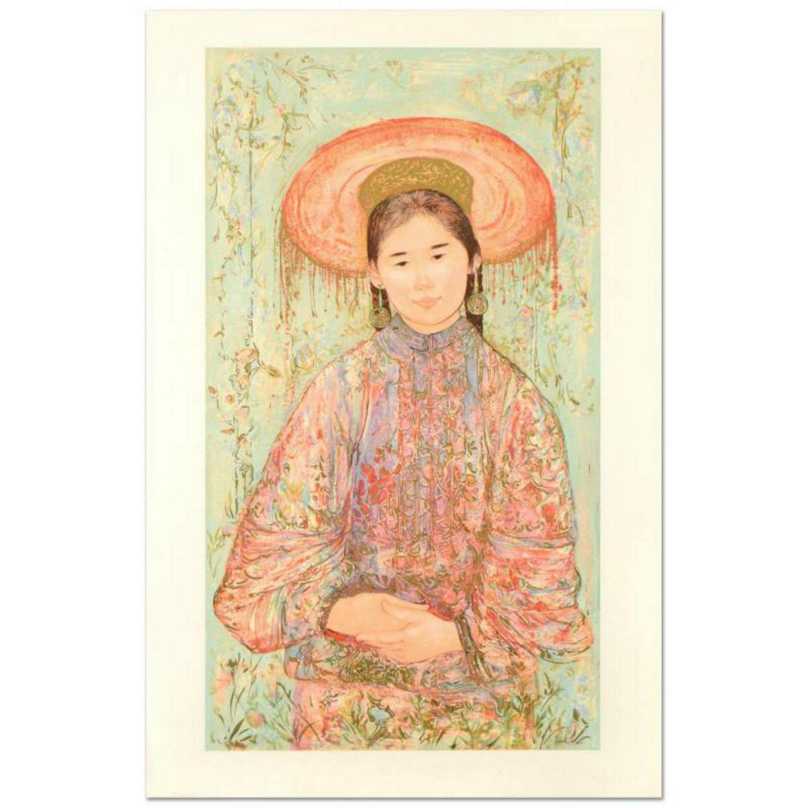 "Edna Hibel (1917-2014), ""Fine China"" Limited Edition"