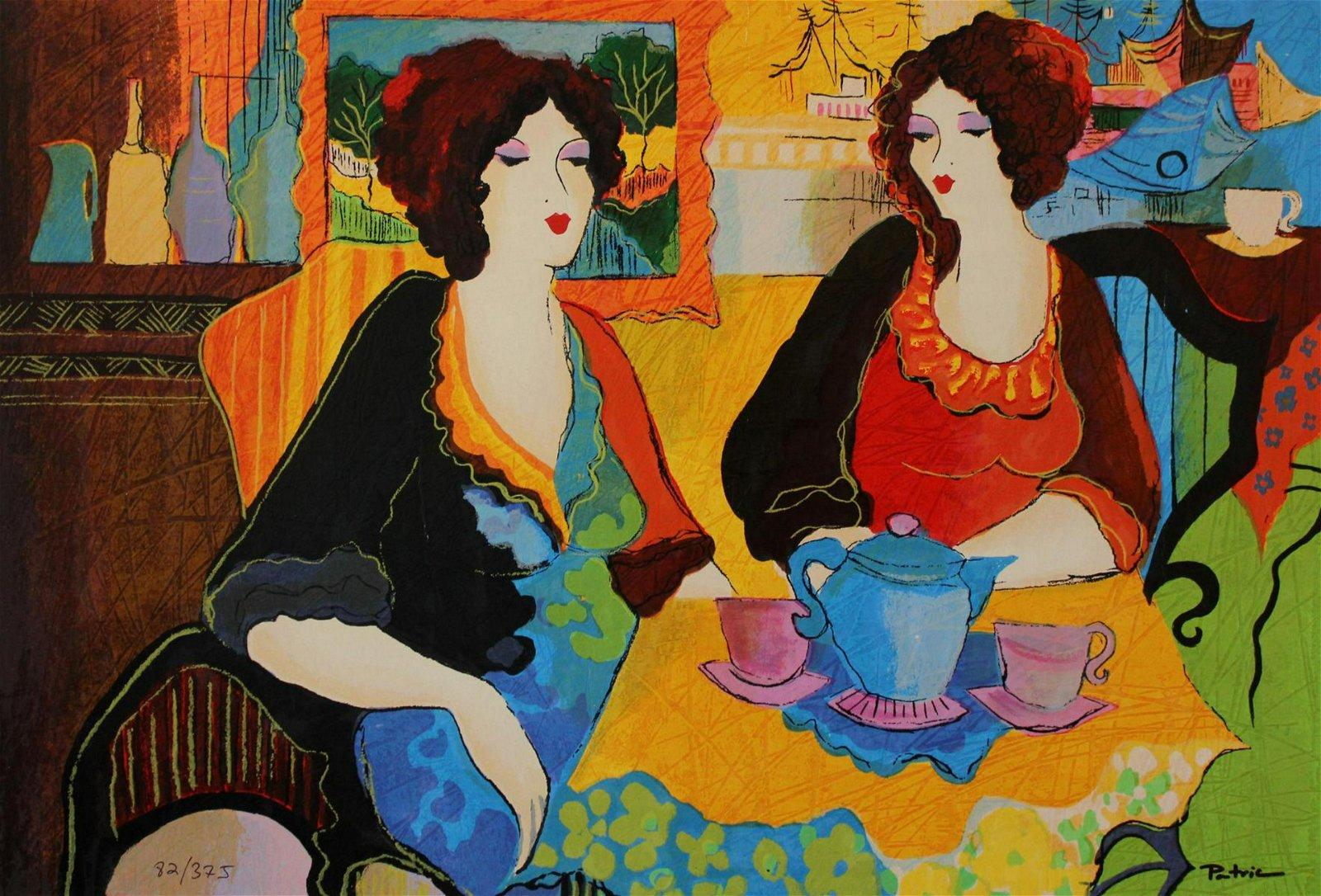 Patricia Govezensky- Original Serigraph on Canvas
