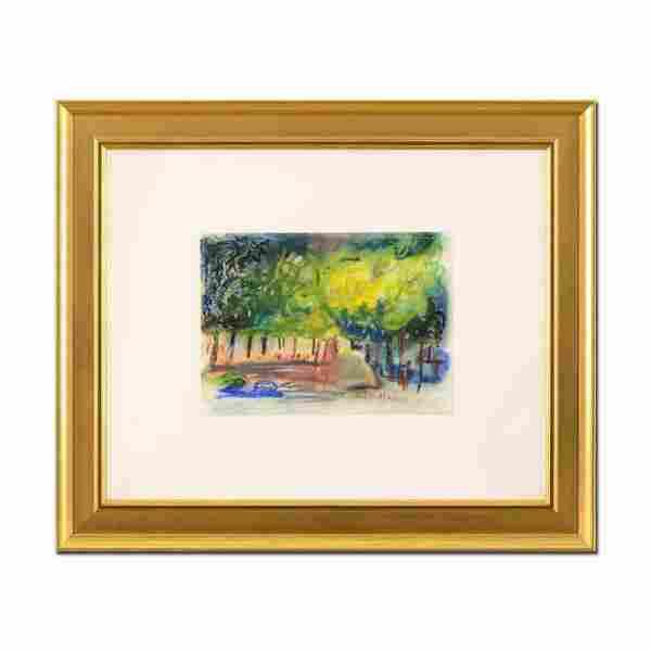 "Judith Bledsoe (1928-2013), ""Summer Evenings"" Framed"