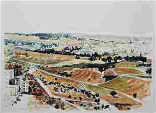 Arie Azene Lithograph