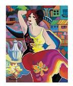 Patricia Govezensky Original Giclee on Canvas Morning