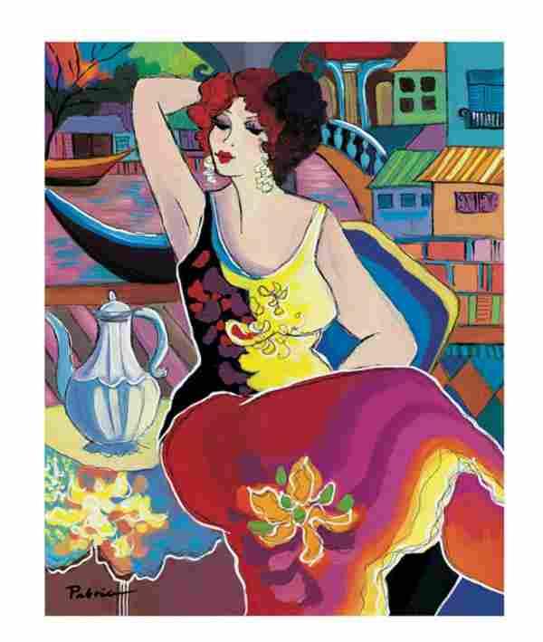 "Patricia Govezensky- Original Giclee on Canvas ""Morning"