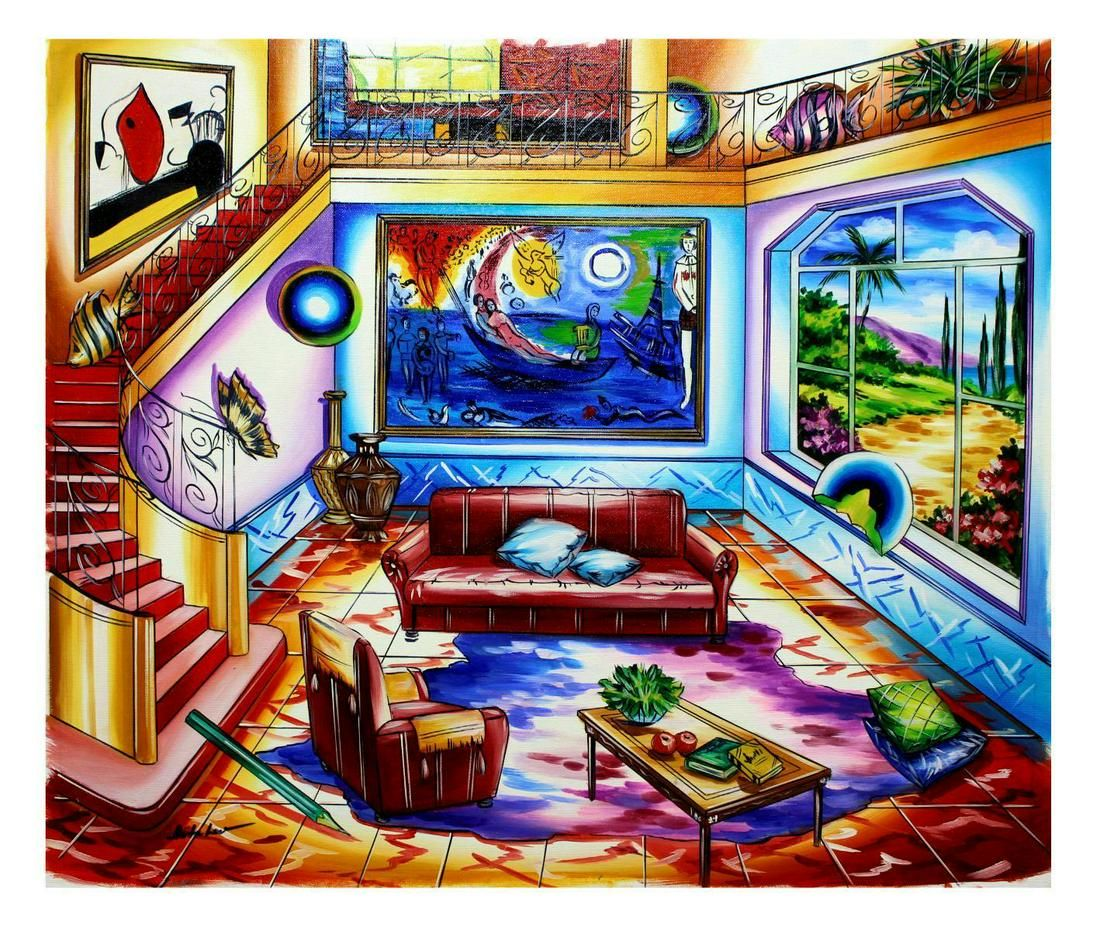 "Alexander Astahov- Original Oil on Canvas ""Lifetime"