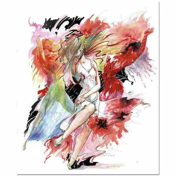 """Lena Sotskova, """"Just Dance"""" Mixed Media Original"""