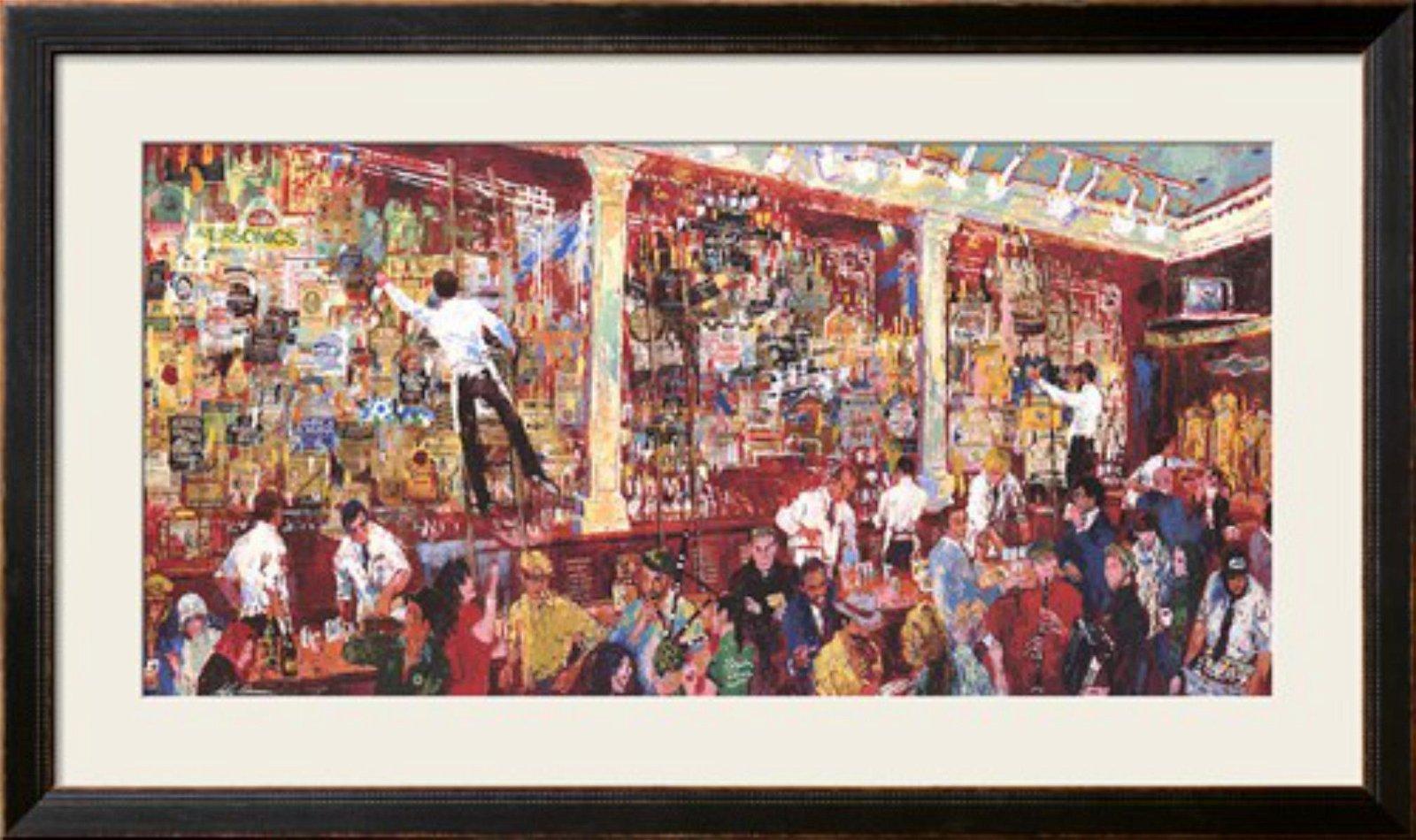 "LeRoy Neiman ""F.X. McRory's Whiskey Bar-Seattle"" Custom"