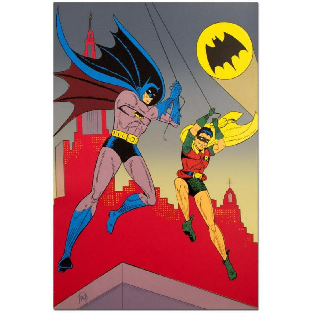 "Bob Kane (1915-1998), ""Batman & Robin"" Extremely Rare"