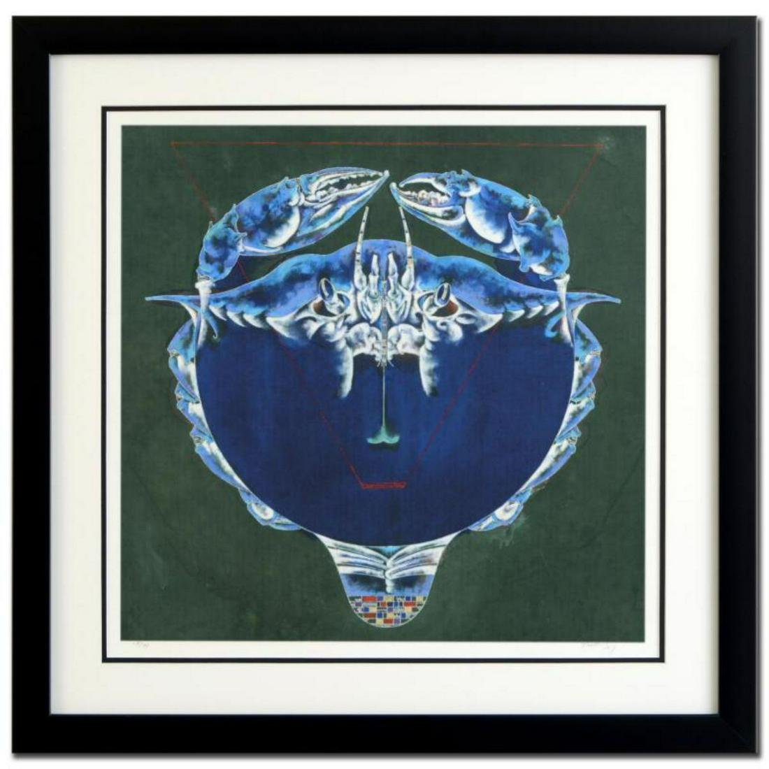 "Lu Hong, ""Cancer"" Framed Limited Edition Giclee,"