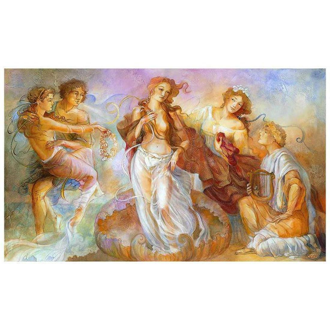 "Lena Sotskova, ""Birth of Venus"" Hand Signed, Artist"