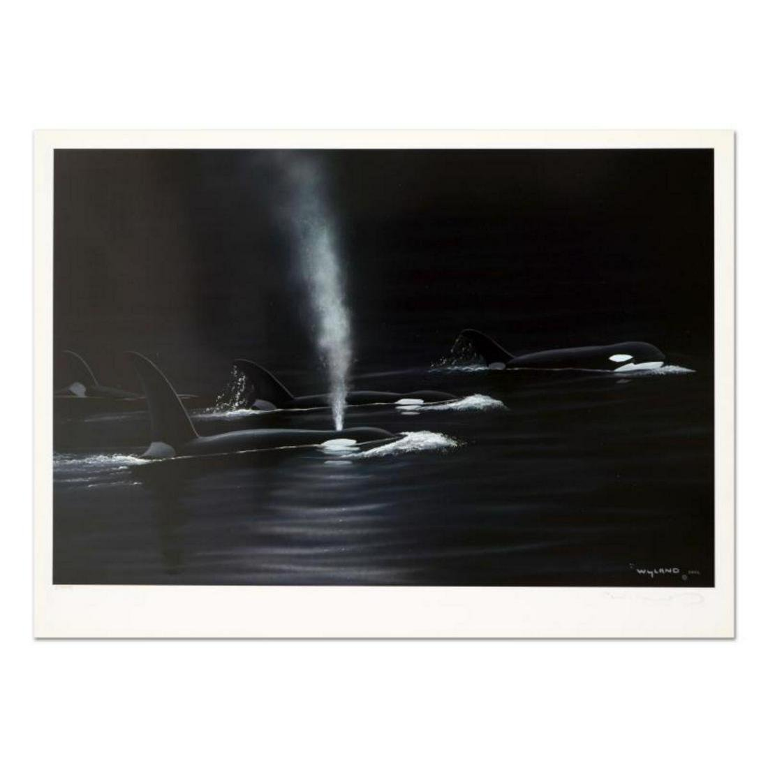"Wyland, ""Ancient Orca Seas"" Limited Edition Lithograph,"