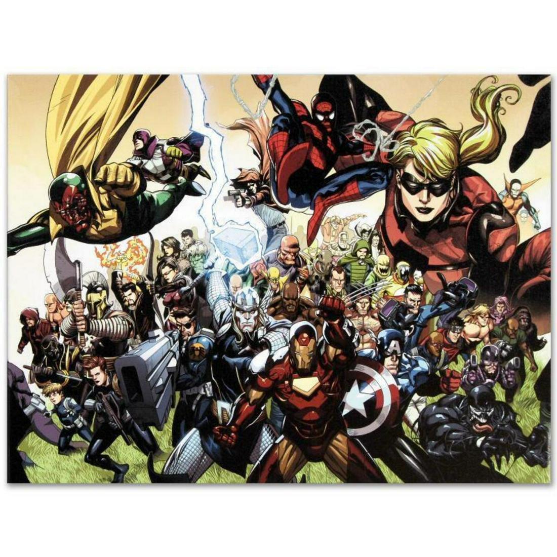 "Marvel Comics ""Secret Invasion #6"" Numbered Limited"