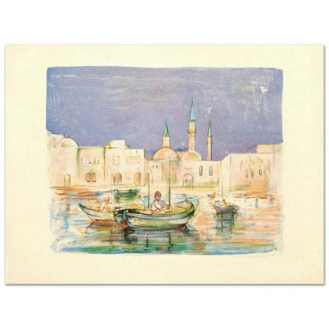 """""""Akko"""" Limited Edition Lithograph by Edna Hibel"""