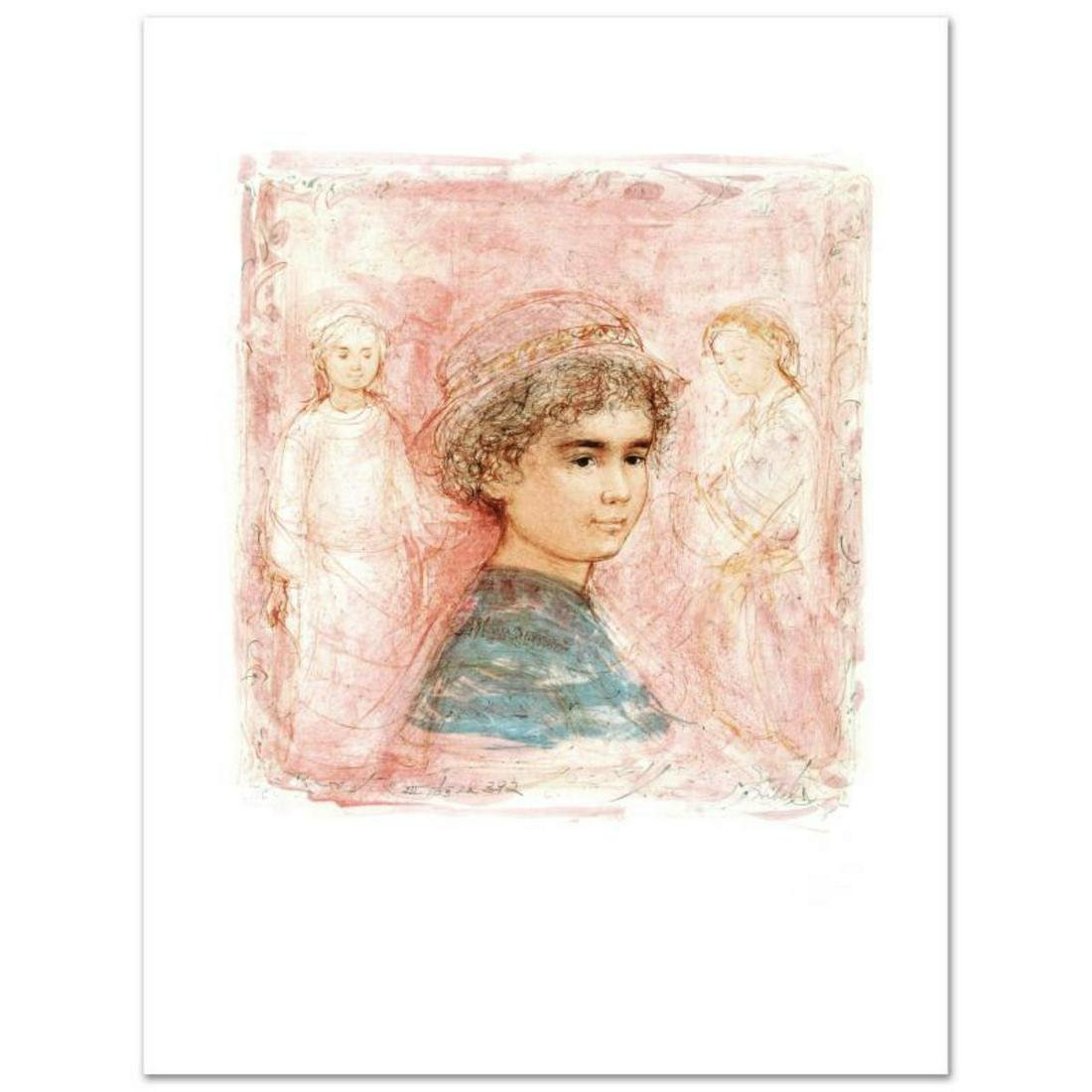 """Matthew"" Limited Edition Lithograph by Edna Hibel"