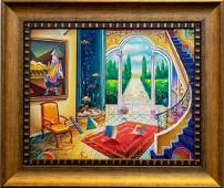 "Alexander Astahov- Original Oil on Canvas ""Back to the"