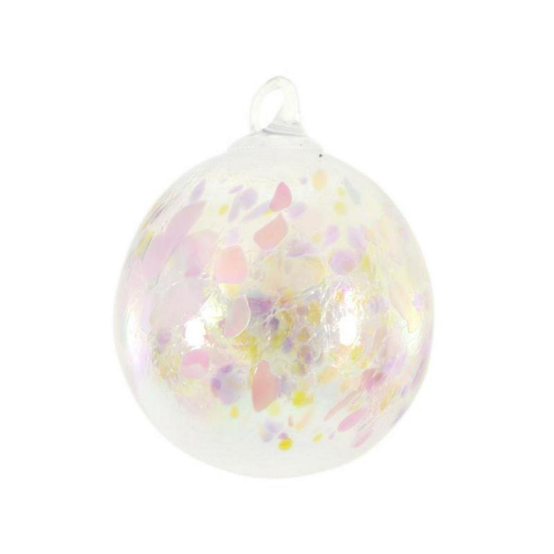 "Glass Eye Studios, ""Ornament (Pink Champagne)"" Hand"