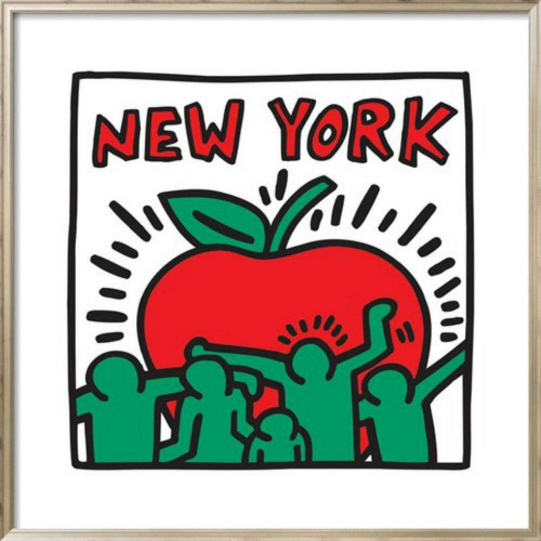 "Keith Haring ""Untitled Pop Art - New York"" Custom"