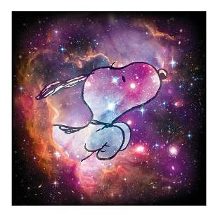 Peanuts Reach for the Stars Hand Numbered Limited