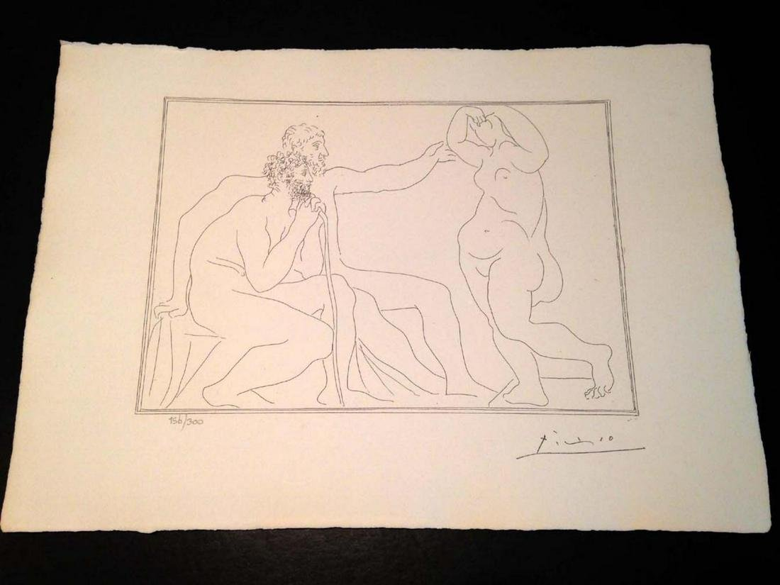 Pablo Picasso Original Limited Edition Lithograph on