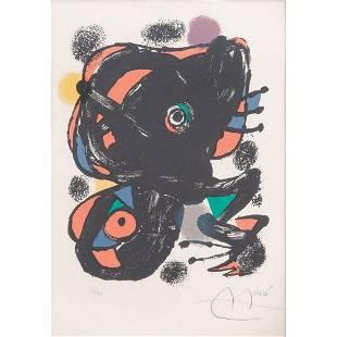 Joan Miro Spanish 18931983 La Punaise Petite