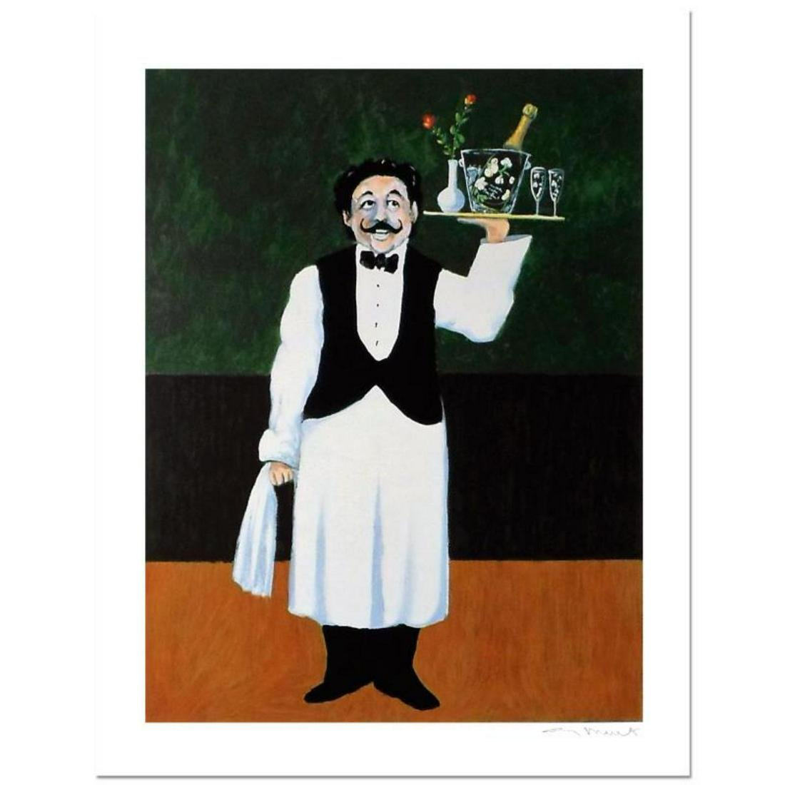 "Guy Buffet, ""Room Service"" Limited Edition Serigraph;"