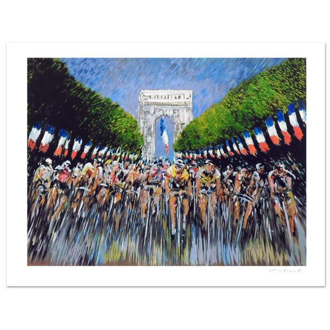 "Guy Buffet, ""The Finish Line"" Limited Edition Serigraph;"