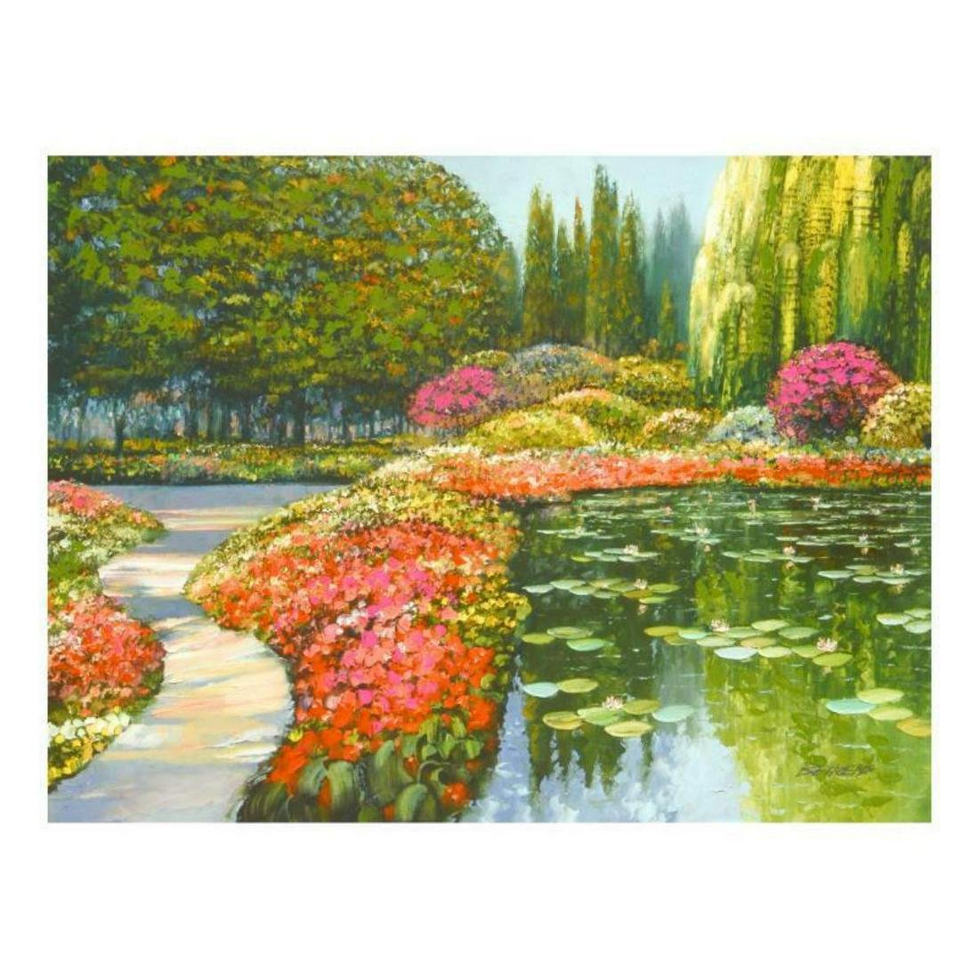 """Howard Behrens (1933-2014), """"The Colors Of Giverny """""""