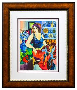 "Patricia Govezensky- Original Watercolor ""Isabelle"""