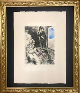 Marc Chagall Bible Etching Hand Signed and Numbed