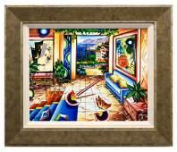 """Alexander Astahov- Original Oil on Canvas """"Open Door"""""""