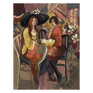 Isaac Maimon Reunion Limited Edition Serigraph