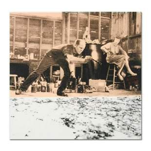 Ringo Jackson Pollock At Work OneofaKind
