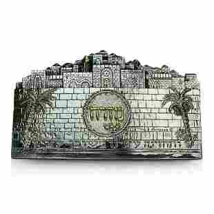 Raphael Abecassis Jerusalem Sterling Silver
