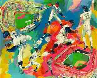 Dodgers Centenial by LeRoy Neiman
