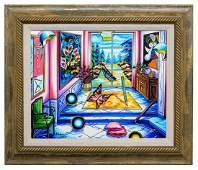 "Alexander Astahov- Original Oil on Canvas ""By The"