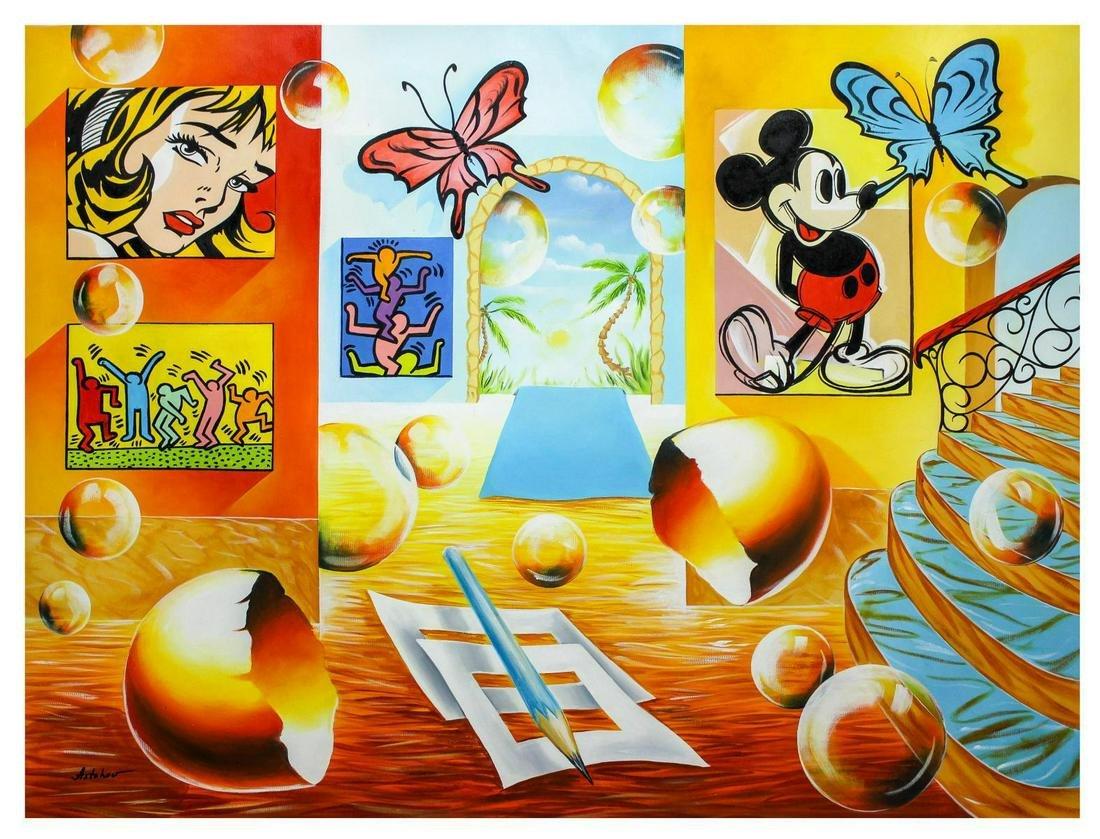 "Alexander Astahov- Original Oil on Canvas ""homage to"