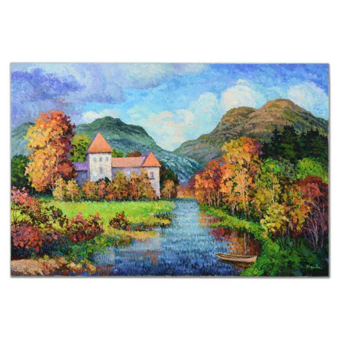 "Alexander Antanenka, ""Perfect Autumn Day"" Original Oil"