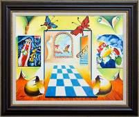 "Alexander Astahov- Original Oil on Canvas ""The Colours"