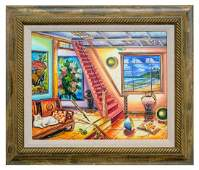 "Alexander Astahov- Original Oil on Canvas ""Studio"""