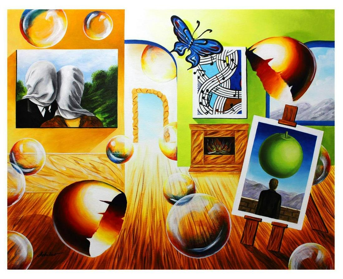 "Alexander Astahov- Original Oil on Canvas ""Good Day"""