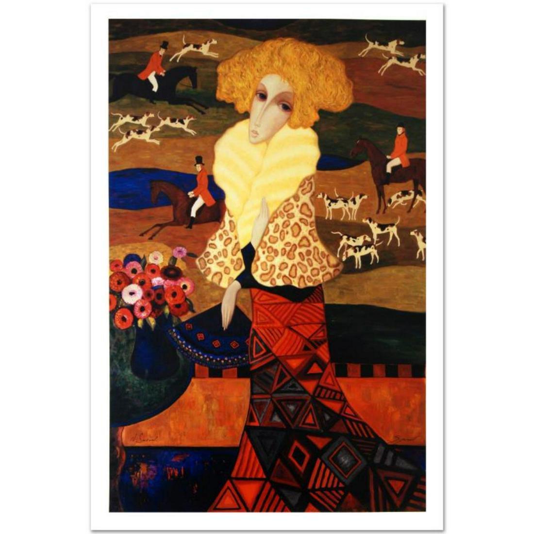 Legendary Russian Artist Sergey Smirnov (1953-2006).