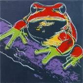 Andy Warhol Pine Barrens Tree Frog Endangered Species